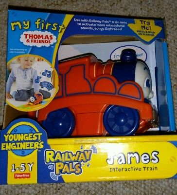 Thomas & Friends - My First Thomas - Railway Pals - James Interactive Train