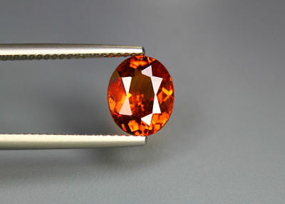 "2.22 Cts_"" Fair Collection ""_100 % Natural AAAAA + Spessartite Garnet_Sri Lanka"