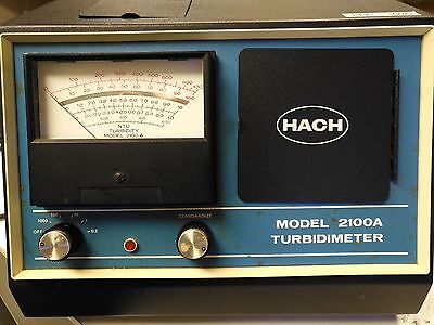 hach 2100A TURBIDITY METER