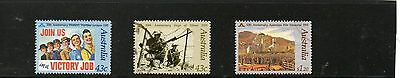 Sg 1283-5 Australia Anzac Day Fine Used Set
