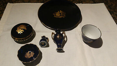 Collection of Limoges china ornaments