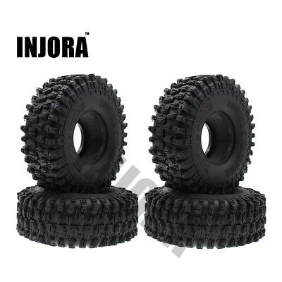 """120MM 1.9"""" Rubber Rocks Tyres / Wheel Tires for 1:10 RC Rock Crawler TRX-4 Axial"""