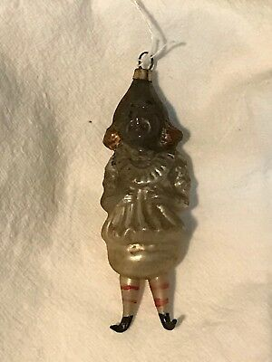 Antique German Figural Glass Christmas Ornament Buster Brown?