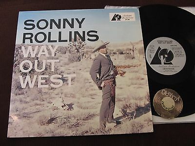 LP Sonny Rollins Way Out West USA 1992 180g Press Limited Ed. | M-