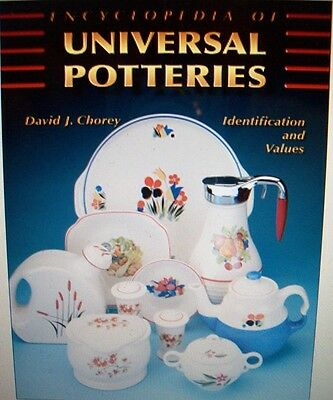 VINTAGE UNIVERSAL POTTERY $$$ id PRICE GUIDE COLLECTORS BOOK Last One Printed
