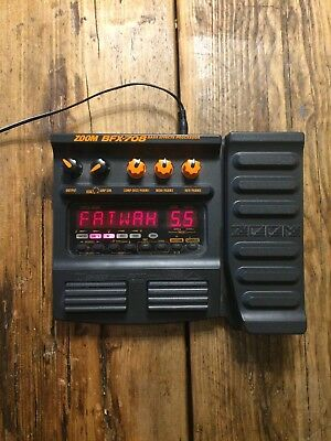 Zoom Guitar Multi Effects Pedal