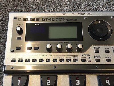 Boss GT-10 Guitar Multi Effects Pedal, Excellent Condition, Lightly Used