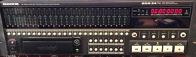 Mackie SDR 24/96 Multitrack HD recorder great machine recently serviced