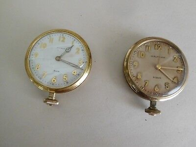 S15 Vintage 8 Day Waltham Deck Watch Ships Chronometer Military Maritime