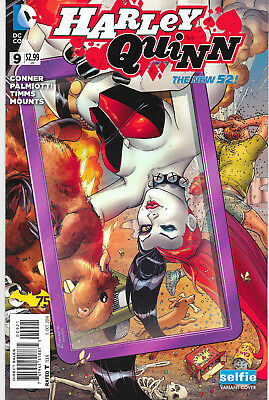 Harley Quinn #9 New 52 Selfie Variant Cover DC Comics Amanda Conner NM-