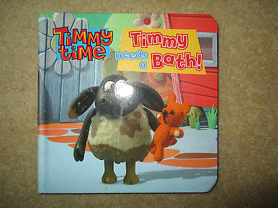 Timmy Time - Timmy needs a Bath Board Book