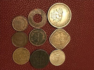 India coin job lot x9