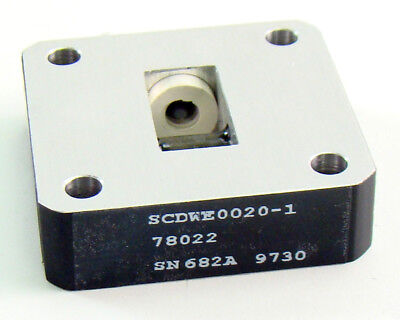 Waveguide Isolator KL-2014 WR-62 12.4-18 GHz 5841-01-080-0158 SCDWE0020-1 =NOS=