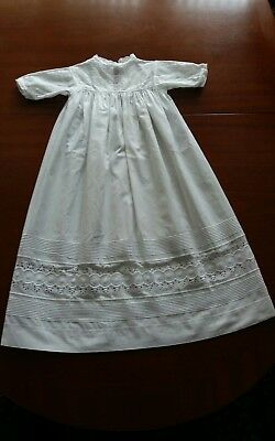 Vintage Christening gown (white) pre 1950