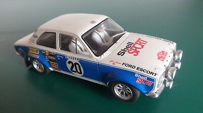 Scalextric C2798 Ford Escort MK1 RS 1600 #20 Very Good Condition