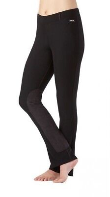 Kerrits Women's Microcord Bootcut Knee Patch Riding Breeches Flow Rise Waist