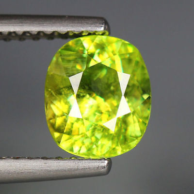 1.63 Cts_World Class Limited Edition_100 % Natural Titanite Green Sphene_Russia