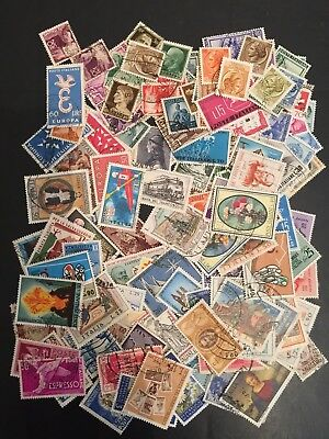 ITALY Postage stamp  collection 1906-1963  130 stamps (127)