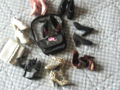 8 Pair Of Gene And Tonner Shoes 2 Matching Handbags