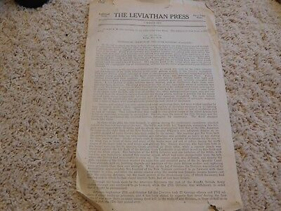 1919 WWI World War I The Leviathan Press History of the 27th Division