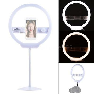 YONGNUO 128pcs LED Video Ring Light 3200-5500K Lamp+Stand for iPhone Live Selfie