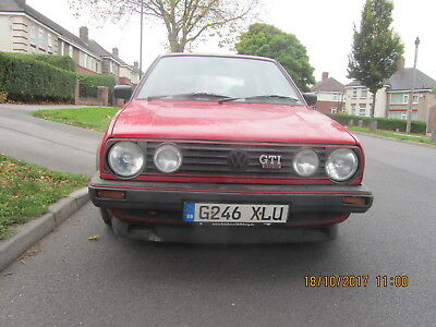 Vw Golf Gti16V Mk2 1989 3 Door Red Barn Find 6 Years And Totally Original