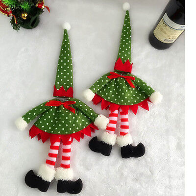New Polka Dot Wine Bottle Cover Bags For Christmas Decoration