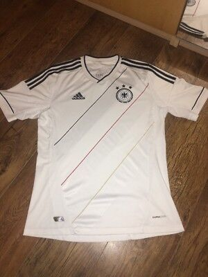 Adidas Jersey Germany Home Football Shirt 2012 Size Medium 100% Authentic