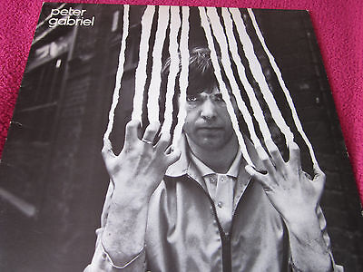 Peter Gabriel 2 'Scratch' with Insert (CDS 4013 Mad Hatter Label)