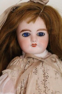 Antique Mon Cheri Paris French Doll, 10 IN, Antique French Bisque Doll, Petite !