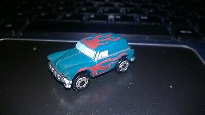 Micromachines Old Van with flames on capote