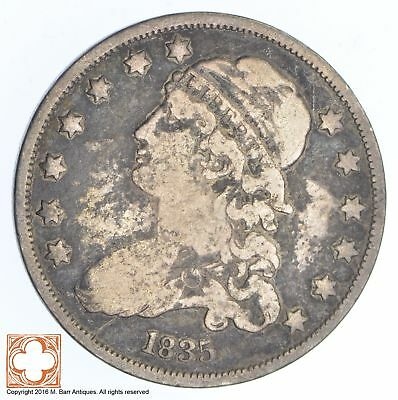 1835 Capped Bust Quarter *XB26