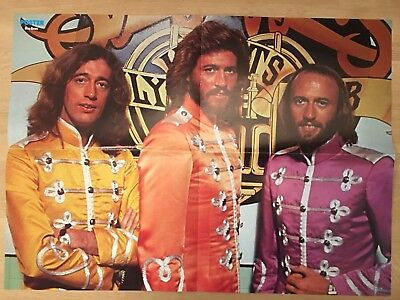 BEE GEES - FROM SWEDEN SWEDISH POSTER MAGAZINE 1970s #1-1979