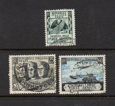 Italy 1952 Armed Forces Day Set - Good Used