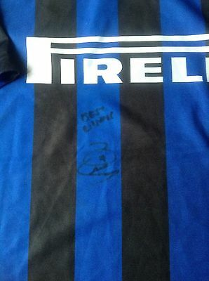 ROBBIE KEANE Hand Signed INTER MILAN Football Shirt