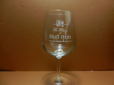 The Winery At Bull Run Stemmed Wine Glass Centreville Virginia Winery