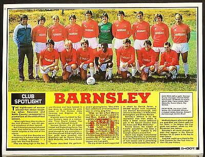 Football Team Picture Barnsley Shoot