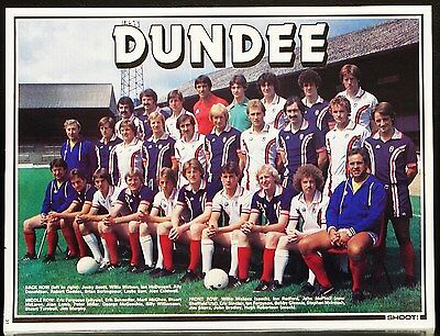 Football Team Picture Dundee Shoot