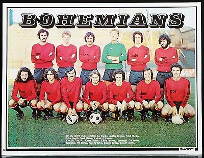 Football Team Picture Bohemians Shoot