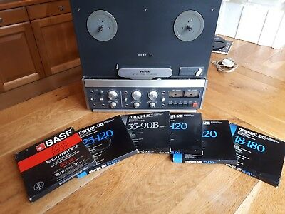 Revox B77 Mk II - in working order but has faults and needs service