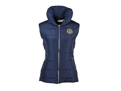Dublin Alice Quilted Vest with Contrast Rib