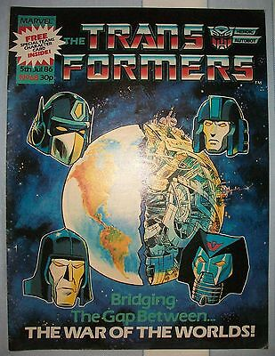 Transformers UK Comic Issue 68 July 1986 The Bridge To Nowhere