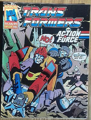 Transformers UK Comic Issue 224