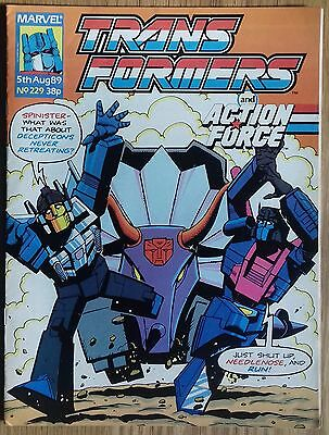 Transformers UK Comic Issue 229