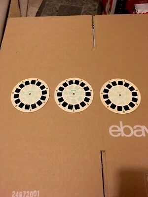Vintage View Master Lot A Lot Of Three Reels View-Master Viewmaster Three