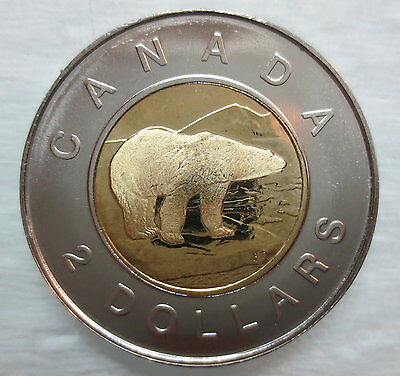 1997 Canada Toonie Proof-Like Two Dollar Coin - S