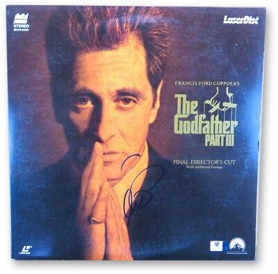 Al Pacino Signed Autographed Laserdisc Cover The Godfathers Part III GV865969