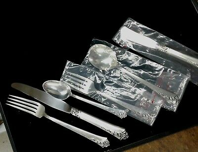 Heirloom Sterling Damask 6 Piece Place Setting