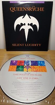 """Queensryche - Silent Lucidity 12"""" picture disc vinyl single"""