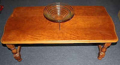 Wooden Coffee Table. Very Sturdy.